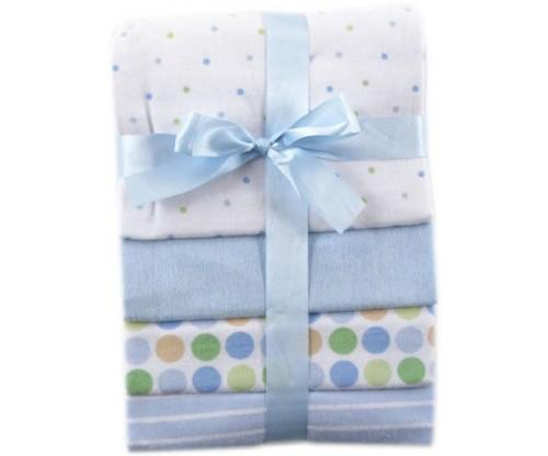 Luvable Friends Flannel Baby Receiving Blankets