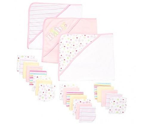 Spasilk 23-Piece Essential Baby Bath Gift Set