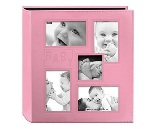 Pioneer Collage Pink Baby Photo Album