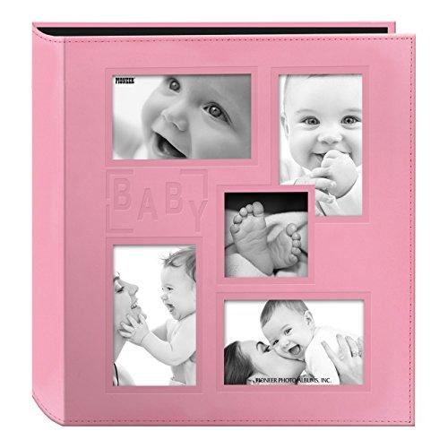 pioneer collage  cute pink baby photo album
