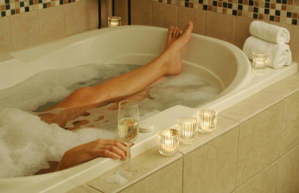 prepare a bath