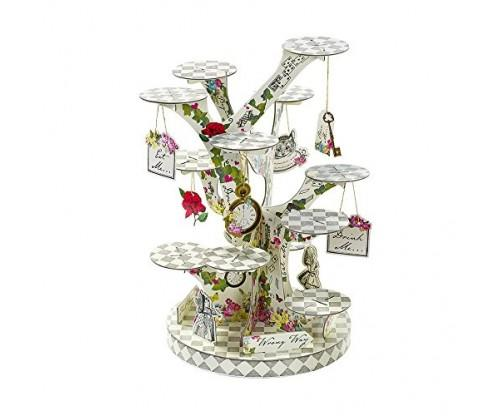 Alice in Wonderland Treat Stand for a Tea Party