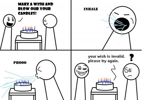 birthday prank