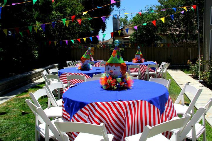 circus themed party - Youth Christmas Party Decorations