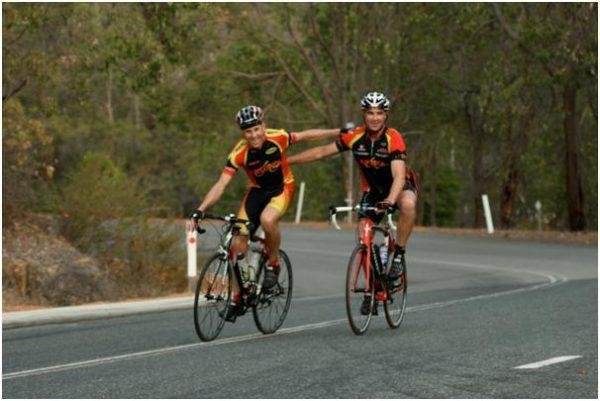 cycling with a partner