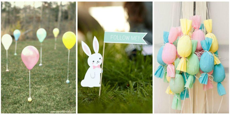 easter egg hunt themed party