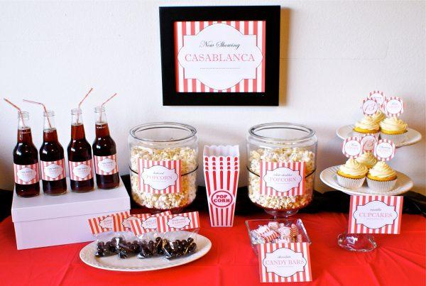 A Popular Movie Themed Party