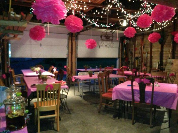 Restaurant Teen Party Location