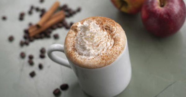 caramelized apple latte