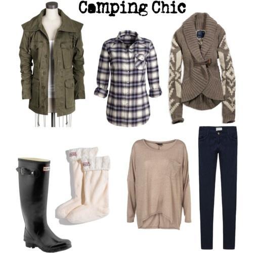 glamping clothing
