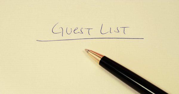 guest list etiquette