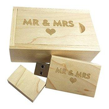 16GB Wood USB 2.0 Flash Drive Memory Stick Pen