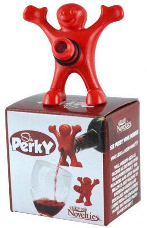 Sir Perky Novelty Wine Pourer