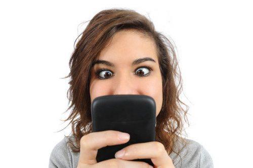 addicted to phone