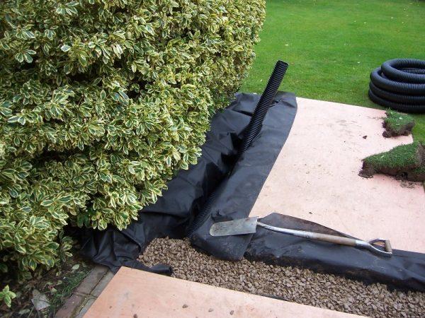 garden drainage system