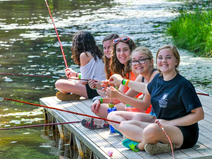 girls fishing trip
