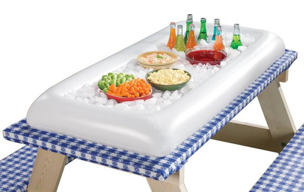 inflatable table top cooler
