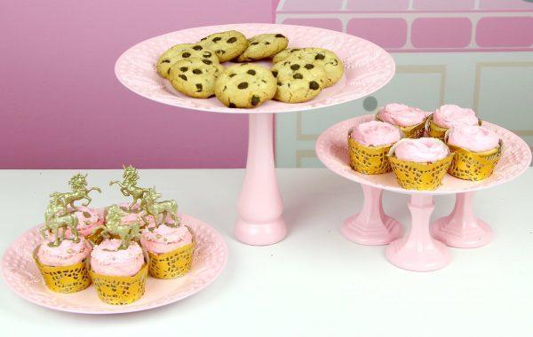 Candlestick Dessert Plates