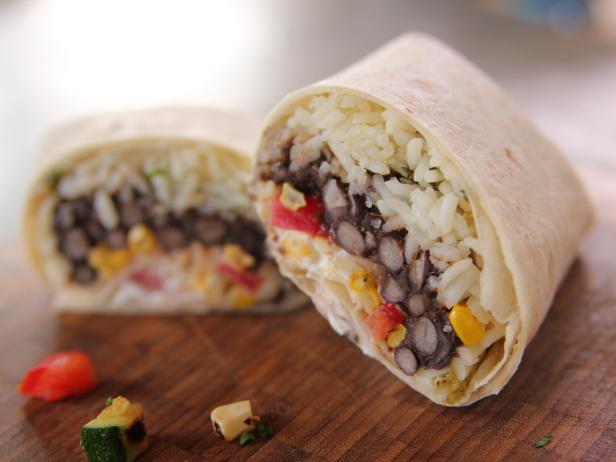 meatless burritos