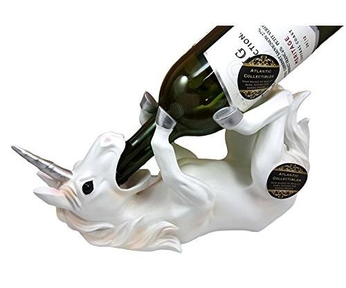 Wine Of Sacred Purity Unicorn Wine Holder for Kitchen
