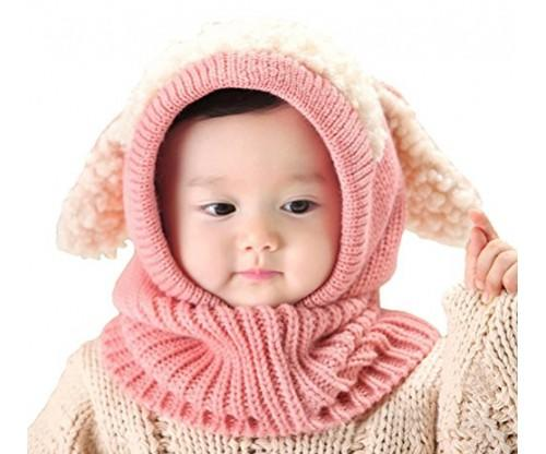 Bienvenu Baby Girls Winter Hat Scarf