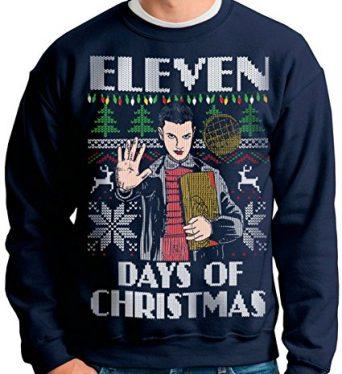Vintage Stranger Things Christmas Hoodie