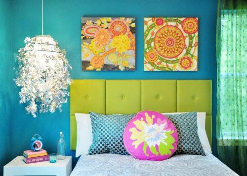 bedroom paintning