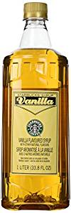 starbucks vanilla starbucks
