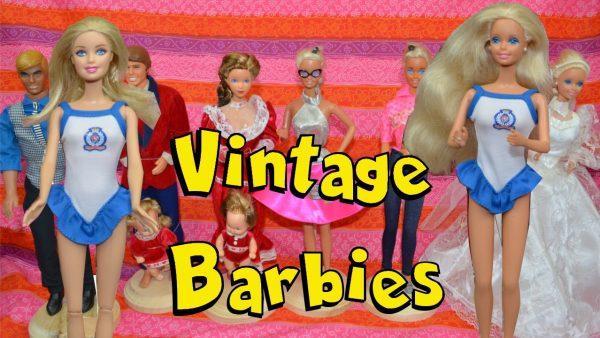 vintage barbies