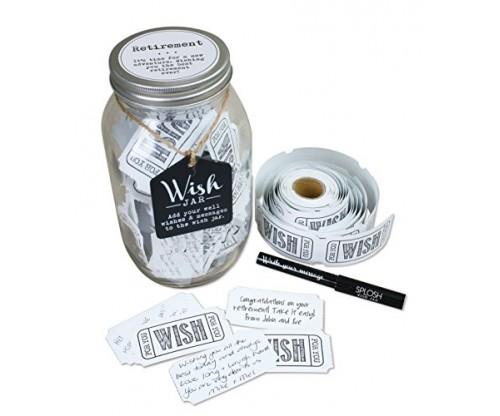 Top Shelf Retirement Wish Jar