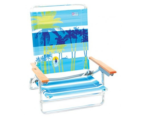 Rio Brands 5 Position Classic Beach Or Fishing Chair