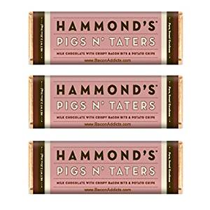 Hammond's Pigs N' Taters Milk Chocolate Bar