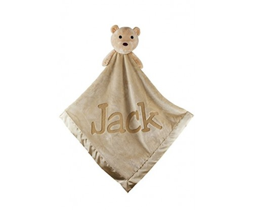 Large Ultra Plush Personalized Teddy Bear Blanket