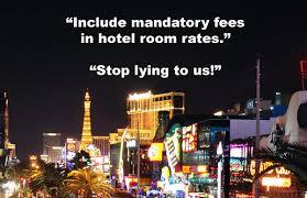 hotel mandatory fees