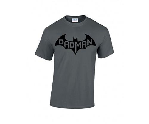 Crazy Bros Tees Dadman – Super Dadman Bat Hero Tee