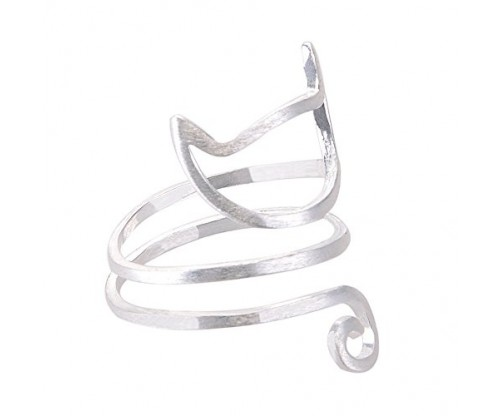Chiconon Innovative S925 Silver Lovely Cat  Ring