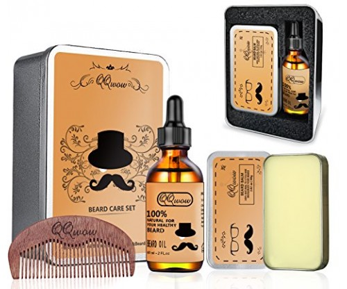 QQwow Beard Kit: Grooming and Beard Care