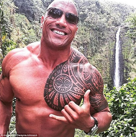Dwayne Johnson instagram