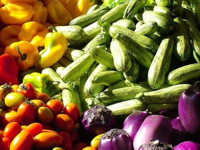 warm season vegetables