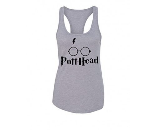 Women's Harry Potter Inspired Burnout Tank Top