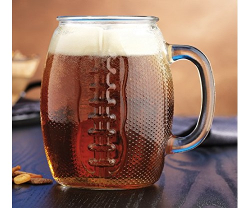 Oktoberfest 37 Oz Football Jumbo Beer Mug