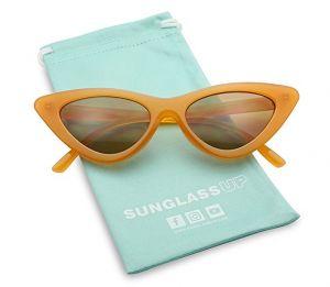 retro vintage orange glasses
