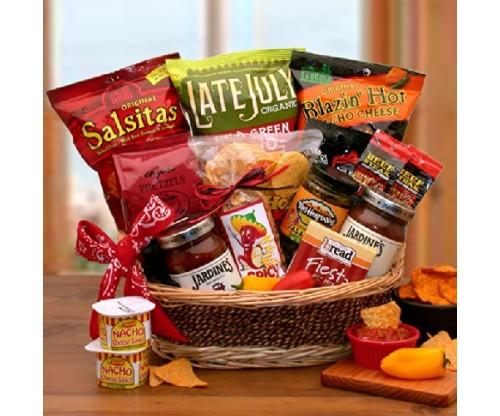 Spice It Up! Chips and Salsa Gourmet Gift Basket