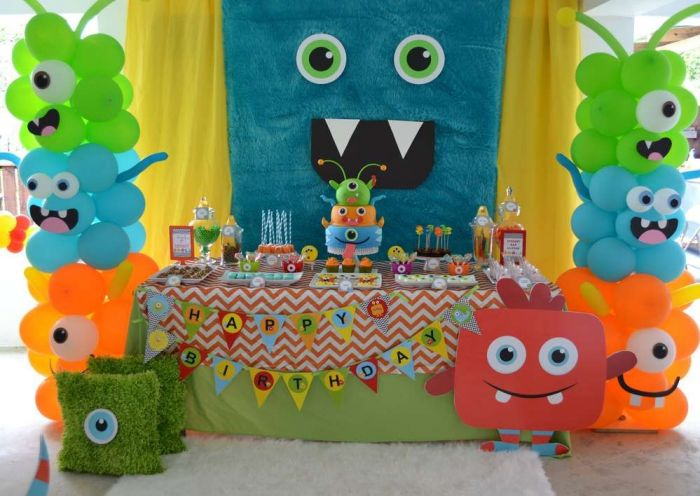 cute onster party