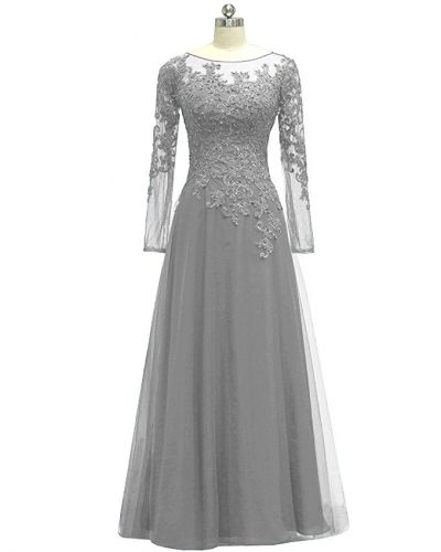 tuule and applique formal gown
