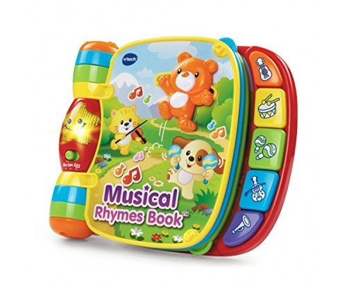 VTech Musical Rhymes Book (Frustration Free Packaging)