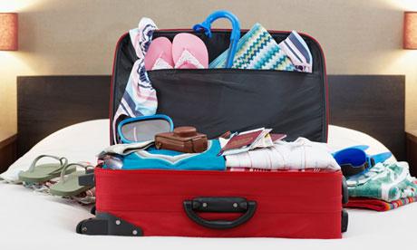 unpack bags