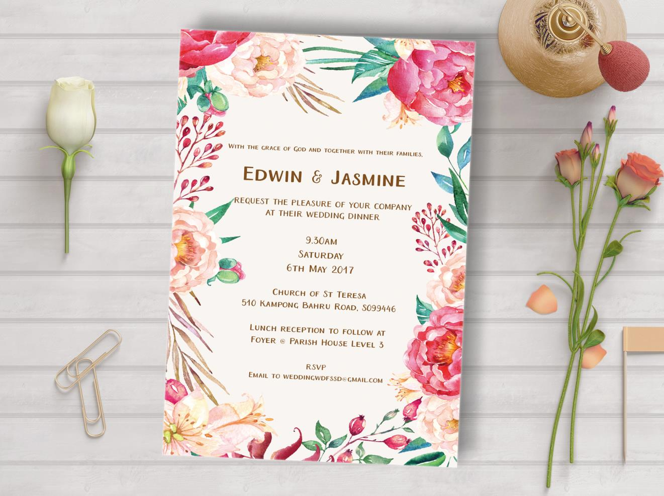 Wedding Invitation Card Sample: Wedding Invitation Wording Samples & Tips