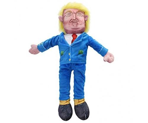 LEDNovelty President Donald Trump Stuffed Pet Doll