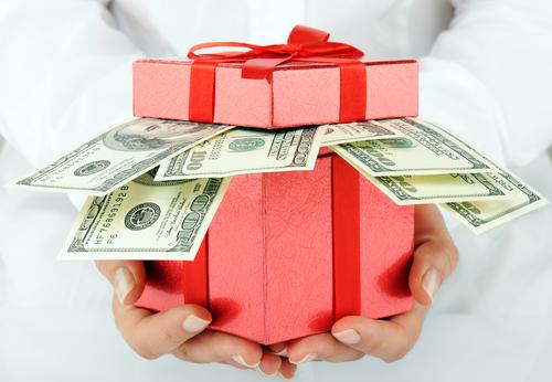 wedding gift cost